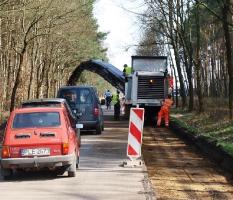 Przebudowa drogi powiatowej do Dąbcza