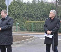 Otwarcie drogi w miejscowości Osieczna_3